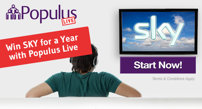 All and about sidcup enter now to win sky for a year no for Enter now to win